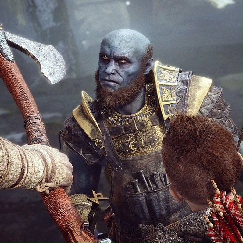 Apportare migliorie all'arma principale di Kratos: Crafting in God of War.