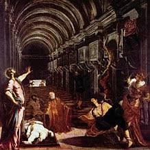 Il ritrovamento del Corpo di San Marco, 1562-66, Pinacoteca di Brera, Milano