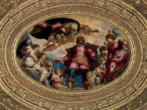 Tintoretto, San Rocco in gloria, Sala dell'albergo, Scuola Grande di San Rocco