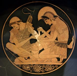 achille patroclo omosessualitànell'Antica Grecia