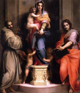La Madonna col cappotto di pelliccia