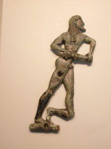 guerriero spartano Callino e Tirteo