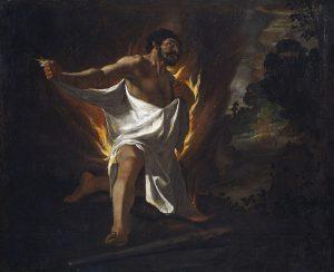 la morte di Ercole