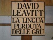 La lingua perduta delle gru David Leavitt omosessualità