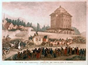 Retour de Varennes (23 juin 1791) Luigi XVI