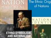 Etnosimbolismo Anthony D. Smith mythomoteur