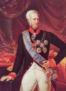 Ritratto di re Ferdinando IV