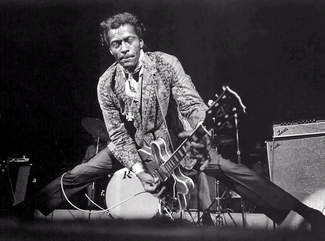 origini del rock Chuck Berry