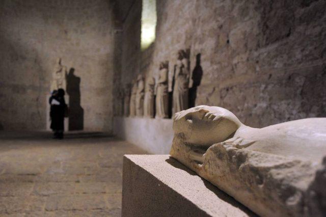 Sotterranei gotici Certosa di San Martino