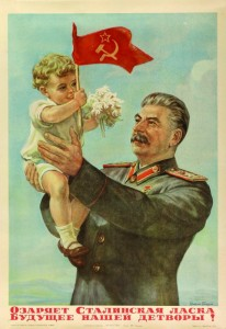 Stalin propaganda totalitaria