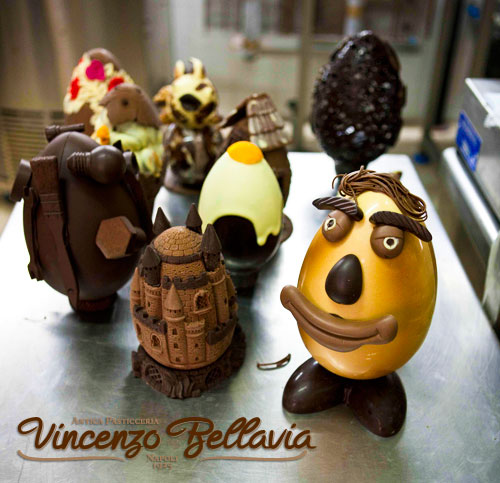 uova di cioccolato Napoli Pasqua