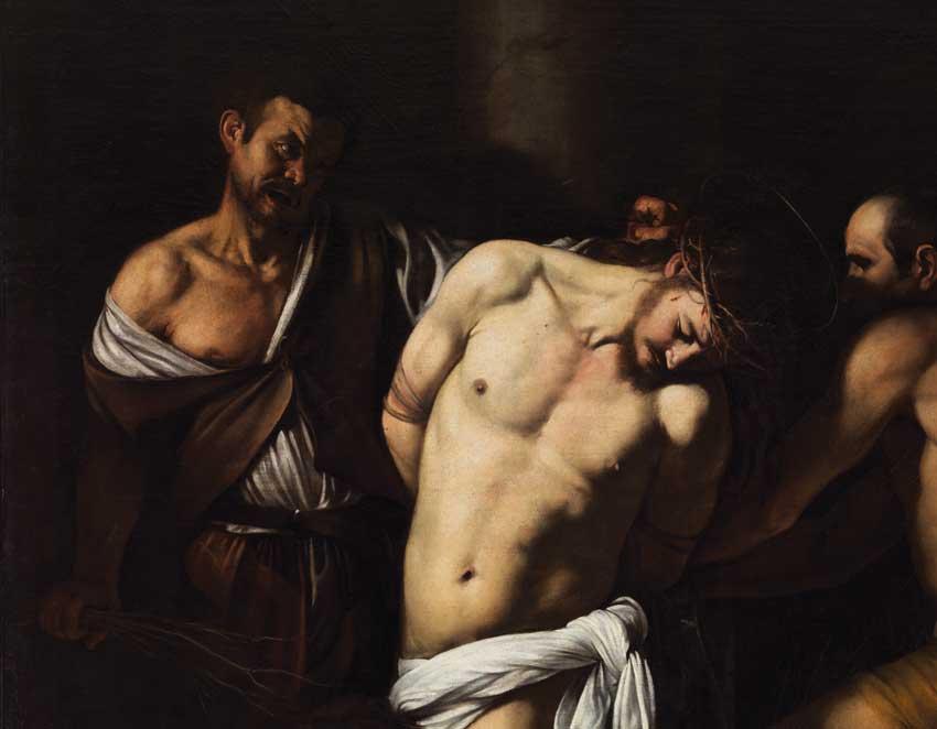Caravaggio Flagellazione di Cristo