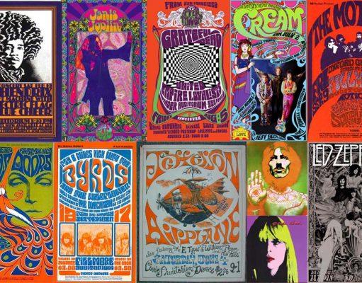 Psichedelia anni 60 musica hippie
