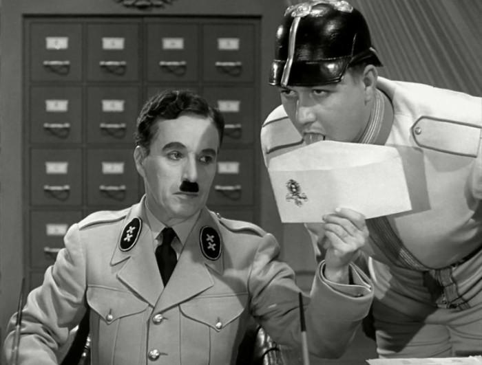 film seconda guerra mondiale Charlie Chaplin Il Grande Dittatore