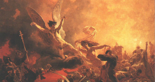 Plutone satana concilio infernale