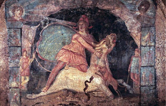 Mithra mosaico