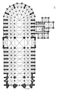 pianta Notre Dame
