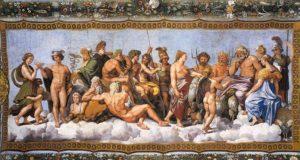 dei olimpo cosmogonia mitologia greca