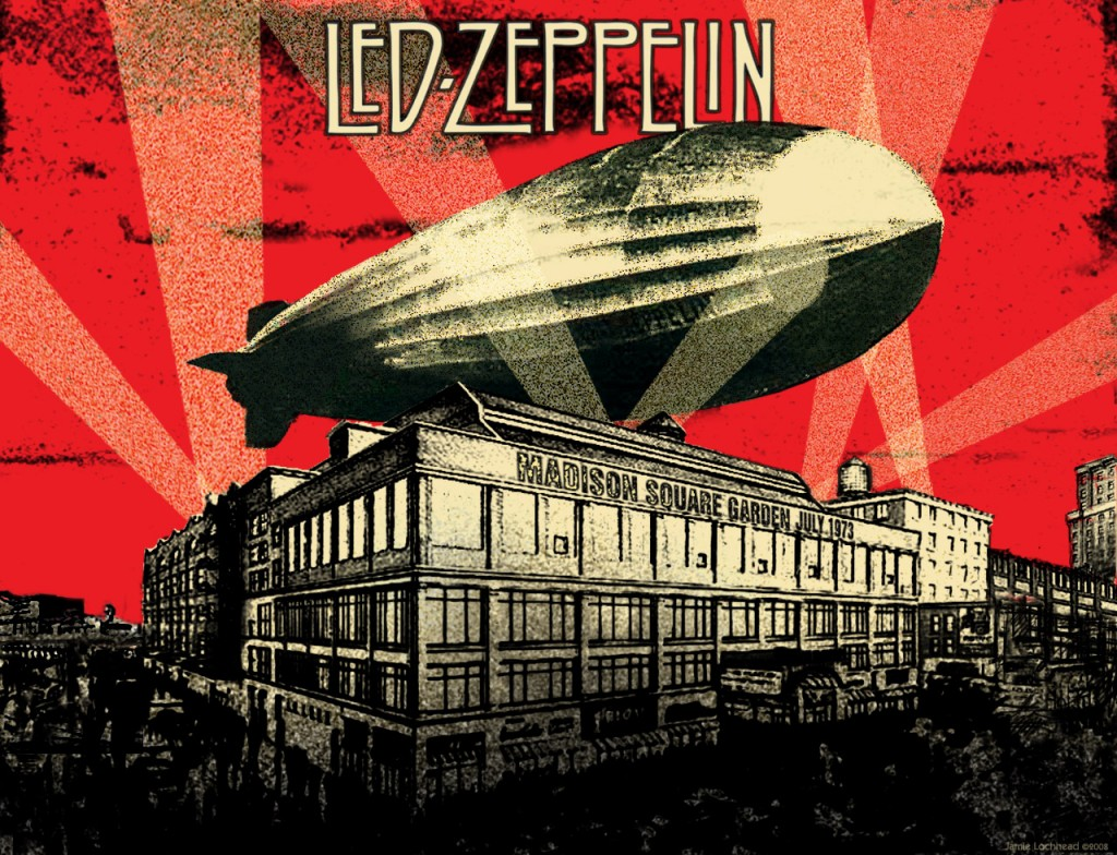 Led Zeppelin hard rock MSG