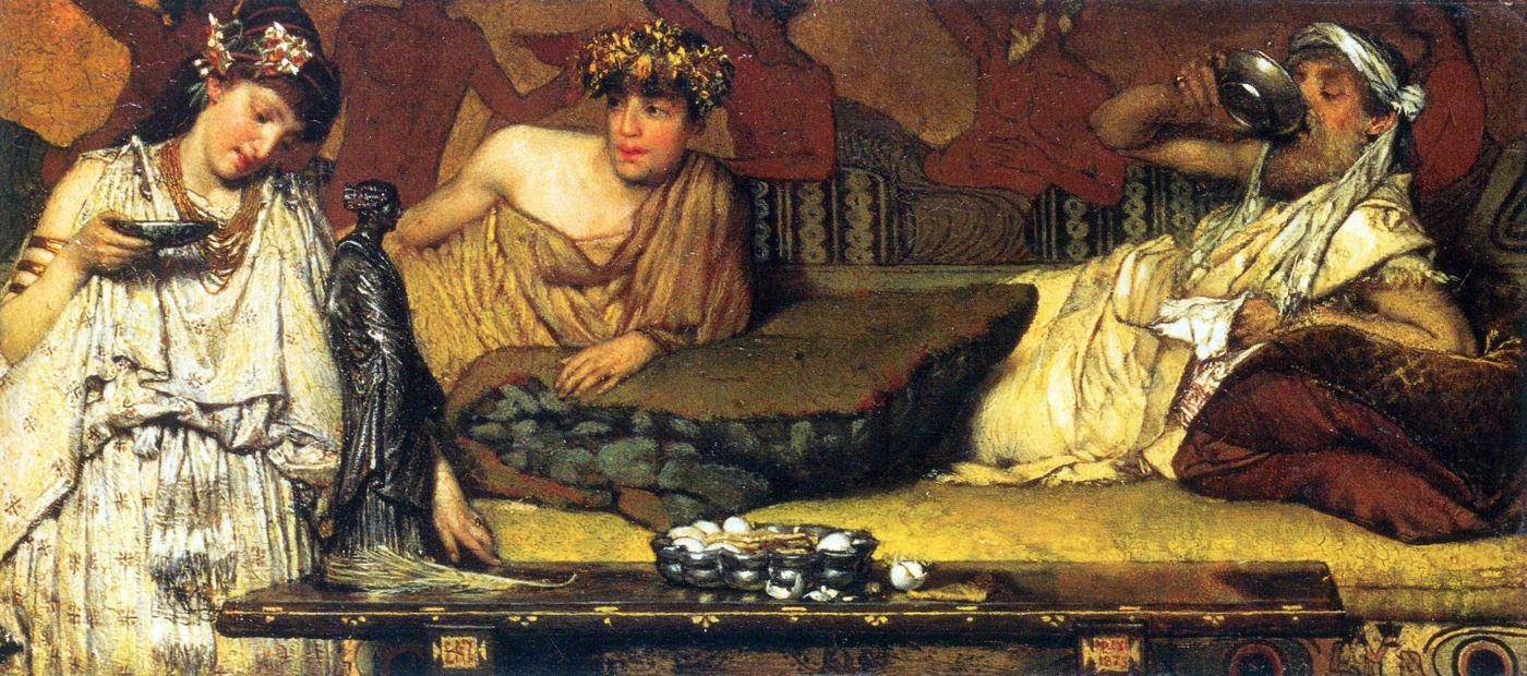 """Risultato immagini per il simposio nell'antica grecia"""""""