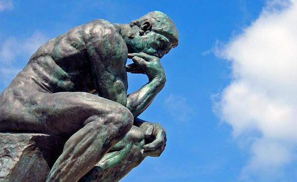 filosofia educación le penseur rodin platone