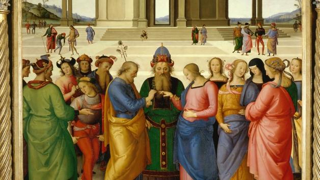Pietro Perugino Lo Sposalizio della Vergine