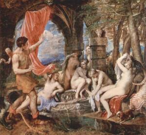 Artemide Diana Atteone Tiziano