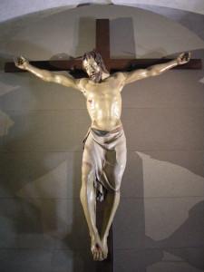 Donatello, Crocifisso, 1406- 1408, legno policromo, Basilica di Santa Croce, Firenze
