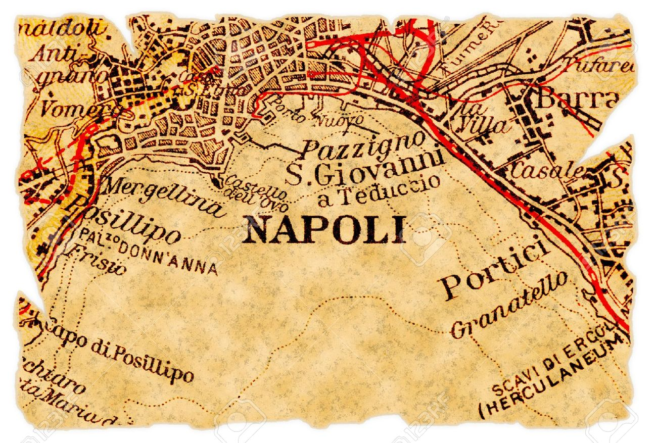 La Cartina Di Napoli