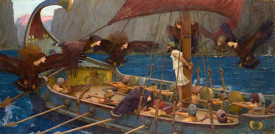 Ulisse e il canto delle sirene