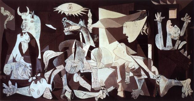 Guernica Picasso Dio è morto
