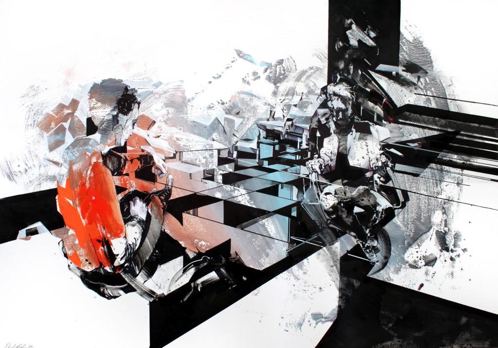 Robert Proch: la realtà geometrica sgretolata