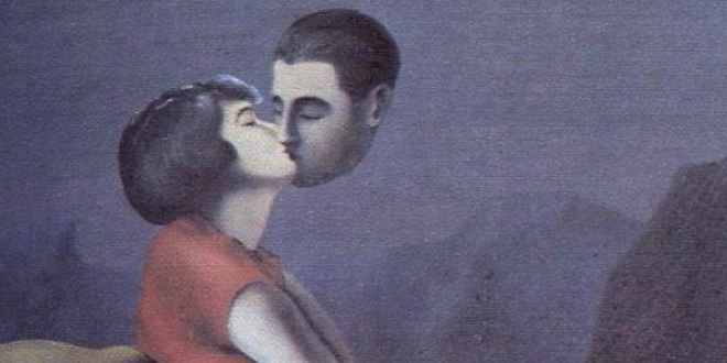 Magritte love from a distance Bauman