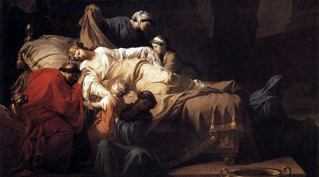 Alcesti morente Euripide