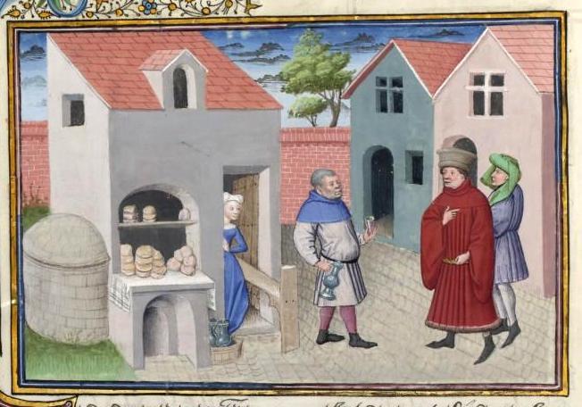 mercante nel Decameron Boccaccio Medioevo valori borghesi
