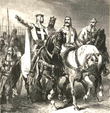 Crociate Goffredo di Buglione Chanson de Jérusalem