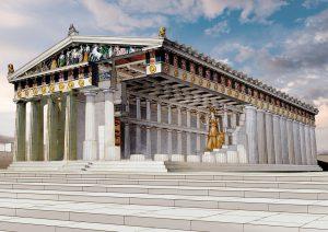 Partenone, simbolo dell'imperialismo ateniese, Hugo, identità europea