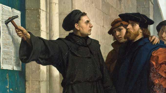 rivoluzione protestante lutero