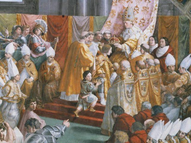 Incoronazione di Carlo Magno Eginardo Vita Karoli