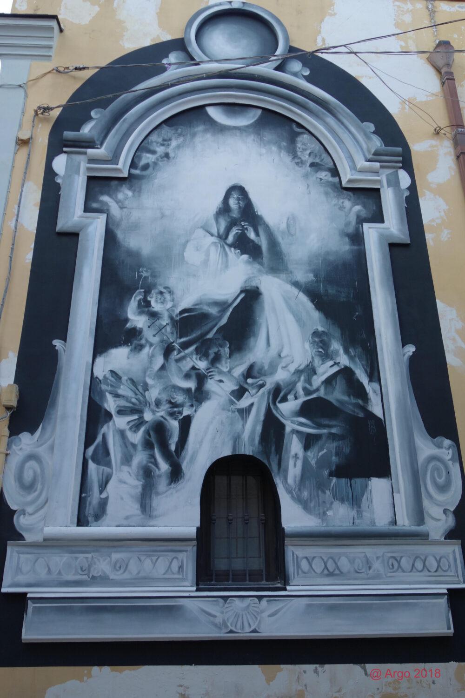 Francisco Bosoletti, il nuovo murales