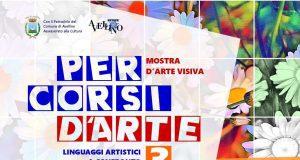 Locandina Percorsi d'Arte Avellino