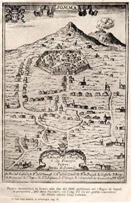 Somma Vesuviana. cartina
