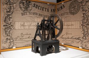 Motore a scoppio Barsanti e Matteucci, 1854