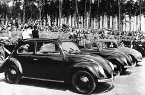 Primi esemplari di Volkswagen Maggiolino