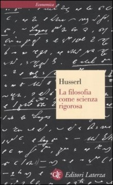 filosofia come scienza rigorosa