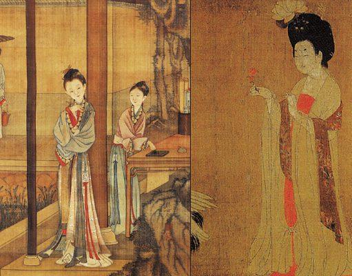 Gioielli nell'antica Cina dipinto