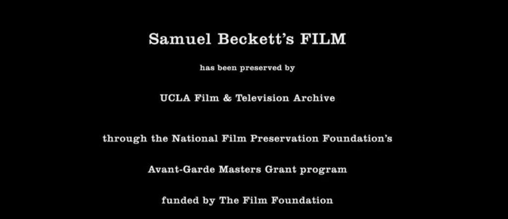 Beckett Film