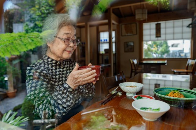 Dieta Okinawa signora