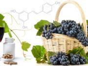 Resveratrolo capsule e uva
