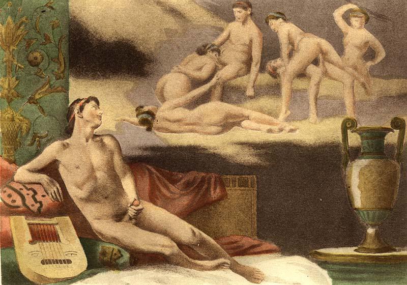 masturbazione antichità
